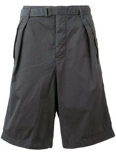 belted cargo shorts Sacai