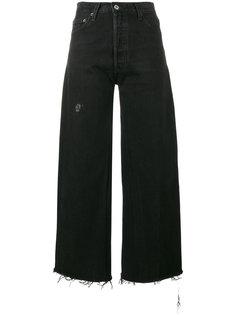 укороченные широкие брюки  Re/Done