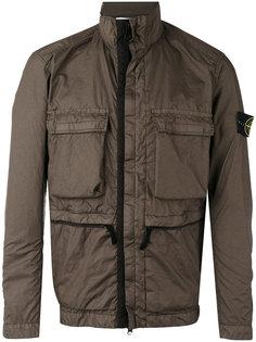 куртка-ветровка с передними карманами Stone Island