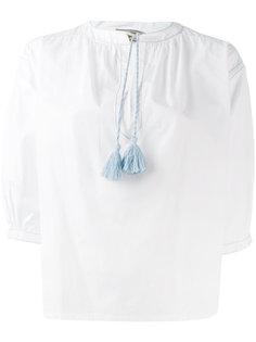 блузка с кисточками Maison Kitsuné