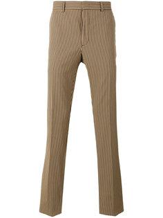 классические брюки в полоску Fendi