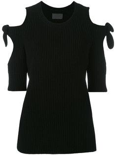 свитер с вырезами на плечах Blackwell  Zoe Jordan