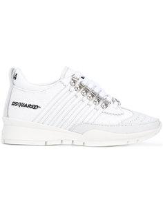 кроссовки с пайетками Dsquared2