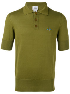 embroidered logo polo shirt Vivienne Westwood Man