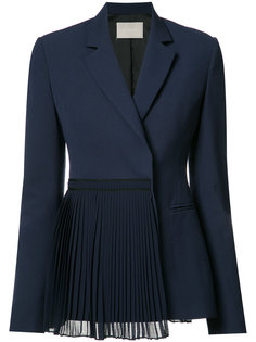 pleated panel blazer  Jason Wu