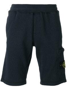 спортивные шорты с накладным карманом Stone Island