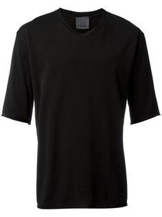 футболка с необработанными краями Laneus