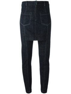 slim fit skirt jeans Maison Margiela Vintage