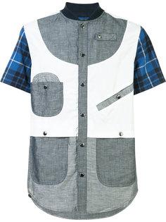 рубашка с панельным дизайном Mostly Heard Rarely Seen