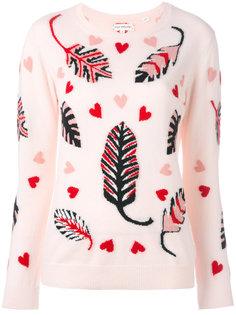 свитер с растительным принтом Chinti And Parker