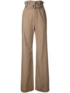 брюки клеш с завышенной талией N Duo