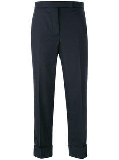 укороченные брюки с полосками по бокам Thom Browne