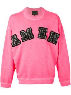logo sweatshirt  Amen Amen.