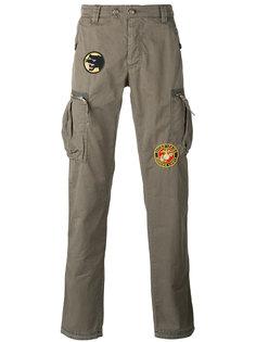 брюки карго с нашивками History Repeats