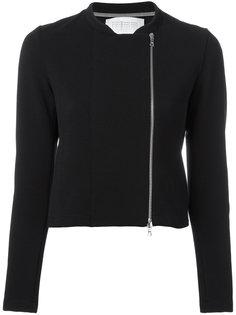 укороченная байкерская куртка Harris Wharf London