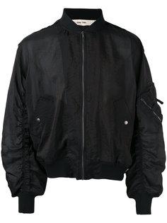 куртка-бомбер в стиле милитари Damir Doma