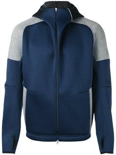 куртка на молнии с капюшоном  Adidas By Kolor