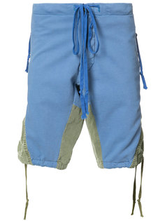 panelled shorts Greg Lauren