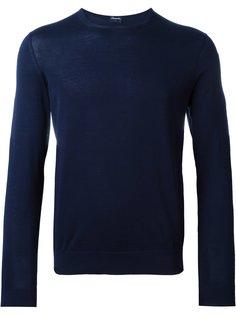 свитер с круглым вырезом  Drumohr