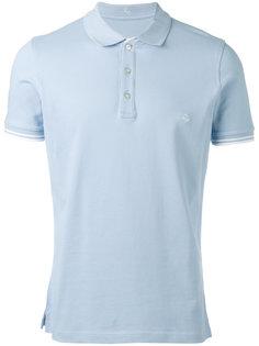 рубашка-поло с вышитым логотипом Fay