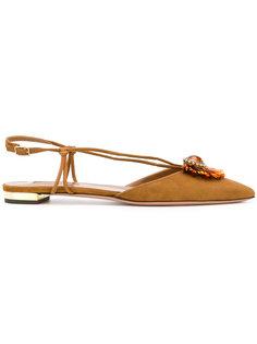 Samba ballerina shoes Aquazzura