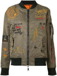 двухсторонняя куртка-бомбер Haculla