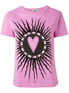 футболка с принтом Saint Heart  Fausto Puglisi