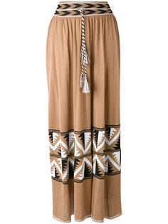 длинная юбка с кисточками Laneus