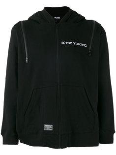 multi-zip hoodie KTZ