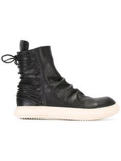 ботинки со шнуровкой сзади D.Gnak