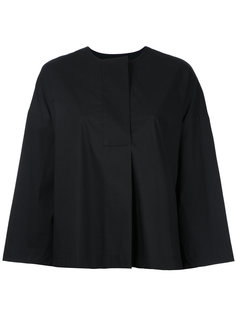 wide sleeve collarless blouse Enföld
