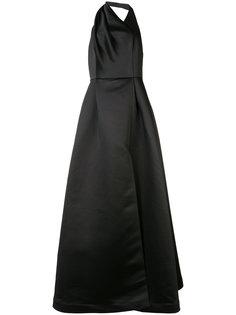 flared long dress  Halston Heritage