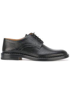 перфорированные ботинки дерби Maison Margiela