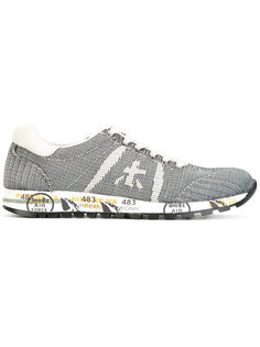 lace up sneakers Premiata White