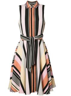 striped shirt dress  Badgley Mischka