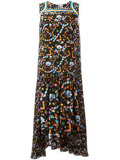 Jewel print dress Peter Pilotto
