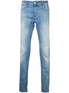 джинсы с высветленным дизайном Closed