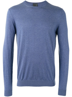 ribbed trim sweatshirt  Laneus