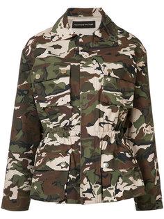 camouflage jacket  Alexandre Vauthier