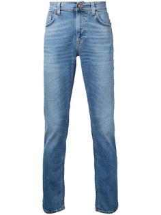 джинсы кроя слим Lean Dean Nudie Jeans Co