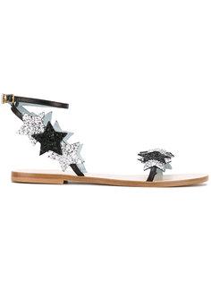#findmeinwonderland flat sandals Chiara Ferragni
