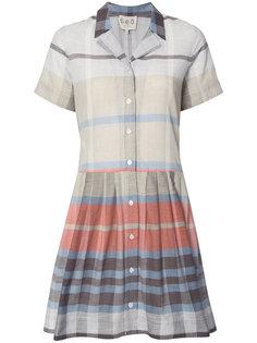 plaid shirt dress Sea
