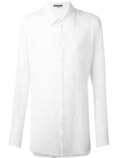 longline shirt Ann Demeulemeester Blanche
