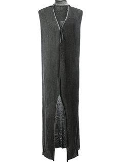 длинное платье со шлицей спереди Lost & Found Ria Dunn