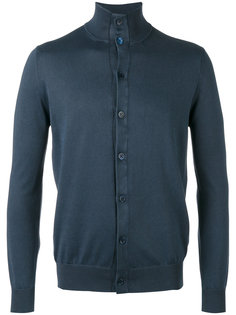 button front stand-up collar cardigan Cruciani