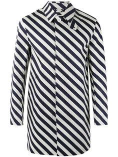 полосатое пальто Mackintosh
