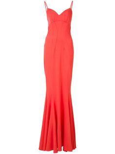 облегающее вечернее платье Zac Zac Posen