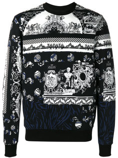 pattern knitted sweater Versus