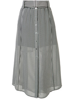 belted striped skirt A.L.C.