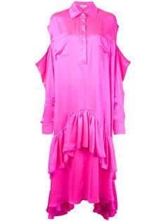 платье-кафтан с вырезами на плечах Natasha Zinko